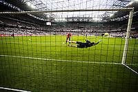 Simon POUPLIN - Stade ALLIANZ RIVIERA - 04.04.2015 - Nice / Evian Thonon - 31eme journee de Ligue 1<br />Photo : Serge Haouzi / Icon Sport