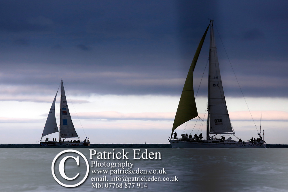 2017, July 1, Round the island Race, Round the Island Race, UK, Isle of Wight, Cowes, CATZERO,