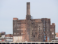 The former Domino sugar factory along the East River.