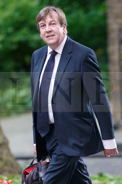 © Licensed to London News Pictures. 09/06/2015. Westminster, UK. Culture, Media and Sport Secretary JOHN WHITTINGDALE attending to a cabinet meeting in Downing Street on Tuesday, 9 June 2015. Photo credit: Tolga Akmen/LNP