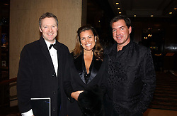 Left to right, RORY BREMNER and TARIK & SUSIE WILDMAN at the Conde Nast Traveller magazine Tsunami Appeal Dinner at the Four Seasons Hotel, Hamilton Place, London W1 on 2nd March 2005.<br />