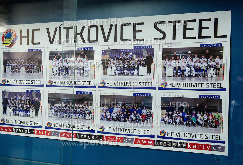 HC Vitkovice Steel in Practice arena 1 day prior to the 2015 IIHF Ice Hockey World Championship in Czech Republic, on April 30, 2015 in Ostrava, Czech Republic. Photo by Vid Ponikvar / Sportida
