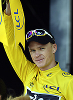 Sykkel , 11. juli 2013 , TOURS, FRANCE -FROOME Christopher (GBR)   of SKY PROCYCLING  during the twelfth stage of the 2013 Tour de France from Fougeres to Tours on July 11, 2013 in Tours, France <br />