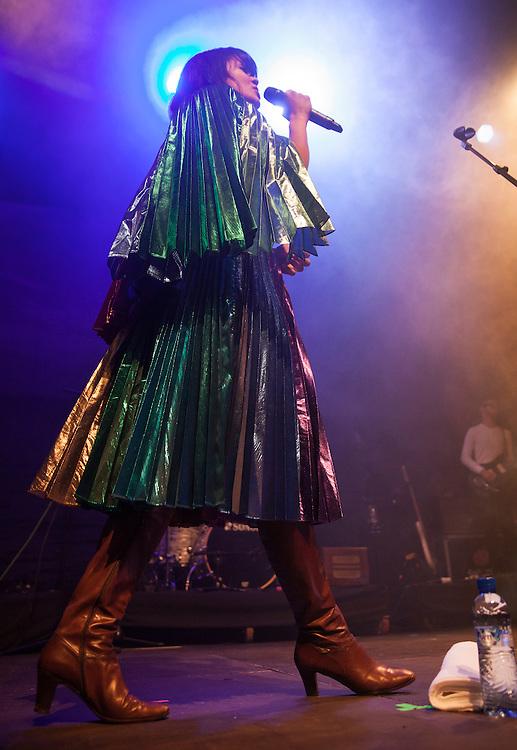 Natasha Khan (Bat for lashes) performing live at Sonar 2013, in Barcelona, Spain.