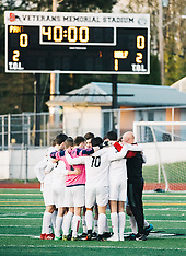 Arlington vs Snohomish Boys Soccer