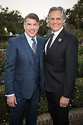 Bryan Batt and Tom Cianfichi at Magic in the Moonlight 2015 benefit for the New Orleans Botanical Garden in City Park