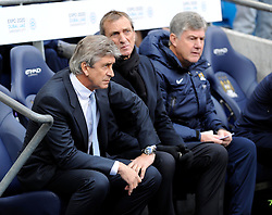 Manchester City Manager, Manuel Pellegrini - Photo mandatory by-line: Dougie Allward/JMP - Tel: Mobile: 07966 386802 24/11/2013 - SPORT - Football - Manchester - Etihad Stadium - Manchester City v Tottenham Hotspur - Barclays Premier League