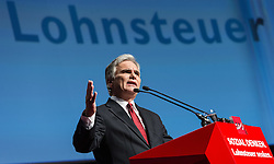 28.11.2014, Messe, Wien, AUT, SPÖ, 43. Ordentlicher Bundesparteitag. im Bild Bundeskanzler Werner Faymann // Federal Chancellor of Austria Werner Faymann during political convention of the austrian social democratic party at Messe Wien in Vienna, Austria on 2014/11/28. EXPA Pictures © 2014, PhotoCredit: EXPA/ Michael Gruber