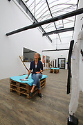 Ludwigshafen. 11.07.17   depotLU<br /> depotLU. In einem ehemaligen Stra&szlig;enbahndepot hat Investorin Birgit St&auml;rk neues Leben eingehaucht. Neben Exklusiven L&auml;den, gibt es Wohnungen und Firmenr&auml;ume.<br /> - Birgit St&auml;rk<br /> <br /> BILD- ID 0049  <br /> Bild: Markus Prosswitz 11JUL17 / masterpress (Bild ist honorarpflichtig - No Model Release!)