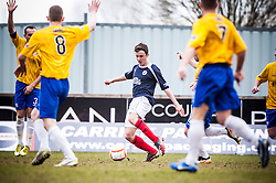 Falkirk's Thomas Grant..Falkirk 4 v 0 Cowdenbeath, 6/4/2013..©Michael Schofield..