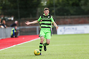 Forest Green Rovers Tom Anderson runs forward during the Pre-Season Friendly match between Worthing FC and Forest Green Rovers at Woodside Road, Worthing, Uni on 1 August 2017. Photo by Shane Healey.