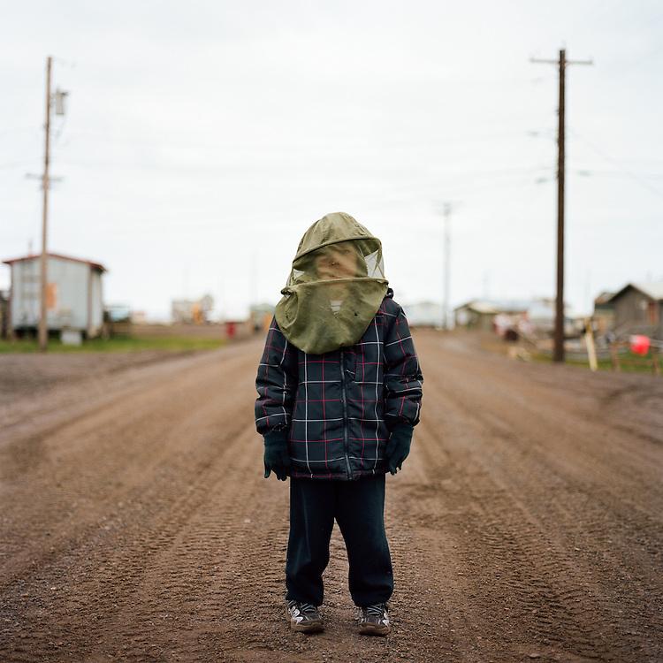 WAINWRIGHT, ALASKA - 2013: