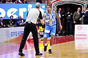 DESCRIZIONE : Varese Lega A 2014-2015 Openjob Metis Varese Banco di Sardegna Sassari<br /> GIOCATORE : Edgar Sosa Luigi Lamonica arbitro<br /> CATEGORIA : arbitro fairplay<br /> SQUADRA : Banco di Sardegna Sassari arbitro<br /> EVENTO : Campionato Lega A 2014-2015<br /> GARA : Openjob Metis Varese Banco di Sardegna Sassari<br /> DATA : 26/12/2014<br /> SPORT : Pallacanestro<br /> AUTORE : Agenzia Ciamillo-Castoria/Max.Ceretti<br /> GALLERIA : Lega Basket A 2014-2015<br /> FOTONOTIZIA : Varese Lega A 2014-2015 Openjob Metis Varese Banco di Sardegna Sassari<br /> PREDEFINITA :