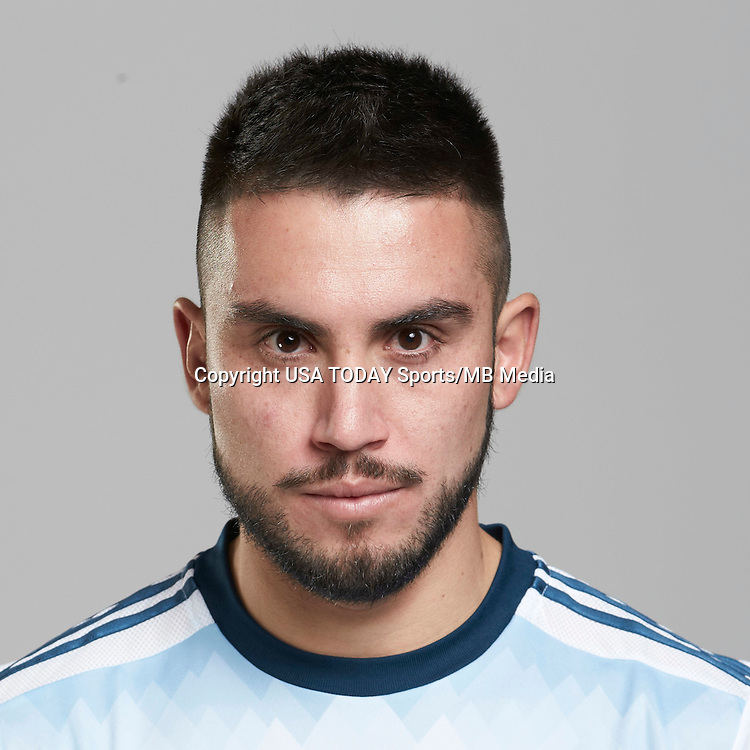 Feb 25, 2016; USA; Vancouver Whitecaps player Pedro Morales poses for a photo. Mandatory Credit: USA TODAY Sports