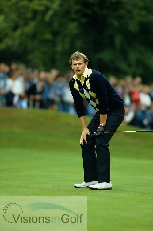 Sandy Lyle 1985 PGA Championship / Photo Mark Newcombe