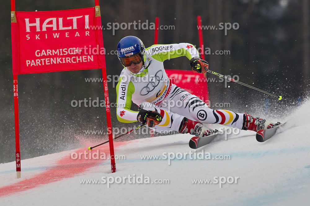 16.02.2011, Kandahar, Garmisch Partenkirchen, GER, FIS Alpin Ski WM 2011, GAP, Teambewerb, im Bild Felix Neureuther (GER) during Team Event Fis Alpine Ski World Championships in Garmisch Partenkirchen, Germany on 16/2/2011. EXPA Pictures © 2011, PhotoCredit: EXPA/ J. Groder