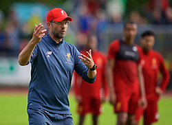 ROTTACH-EGERN, GERMANY - Friday, July 28, 2017: Liverpool's xxxx during a training session at FC Rottach-Egern on day three of the preseason training camp in Germany. (Pic by David Rawcliffe/Propaganda)