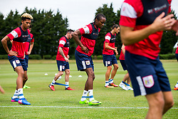Shawn McCoulsky in action as Bristol City return for pre-season training ahead of the 2017/18 Sky Bet Championship Season - Rogan/JMP - 30/06/2017 - Failand Training Ground - Bristol, England - Bristol City Training.