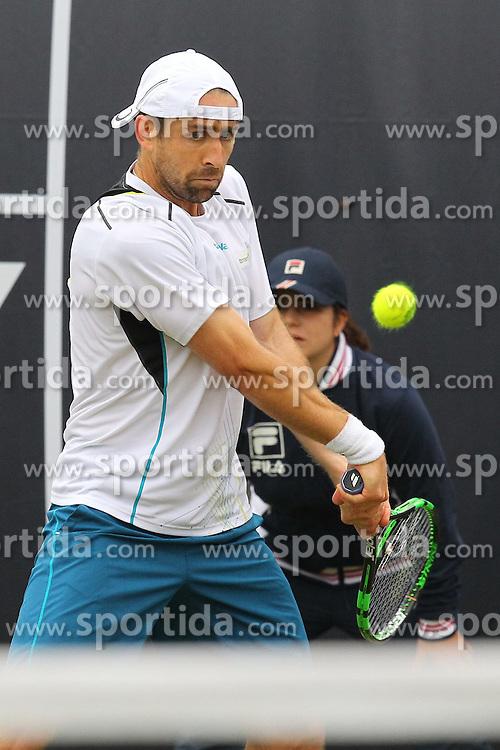 09.06.2015, Tennis Club Weissenhof, Stuttgart, GER, ATP Tour, Mercedes Cup Stuttgart, im Bild Benjamin Becker ( GER ) // during the Mercedes Cup of ATP world Tour at the Tennis Club Weissenhof in Stuttgart, Germany on 2015/06/09. EXPA Pictures &copy; 2015, PhotoCredit: EXPA/ Eibner-Pressefoto/ Langer<br /> <br /> *****ATTENTION - OUT of GER*****