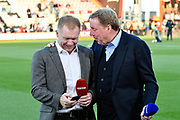 BT Sports pundits Paul Scholes and Harry Redknapp before the Premier League match between Bournemouth and Manchester United at the Vitality Stadium, Bournemouth, England on 18 April 2018. Picture by Graham Hunt.