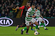 Christopher Jullien (#2) of Celtic during the Europa League match between Celtic and Rennes at Celtic Park, Glasgow, Scotland on 28 November 2019.