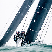 2017 in Sotogrande, SPAIN - ABR 29: during RC44 Sotogrande Cup 2017 at Sotogrande. (Photo by Jesus DYañez for dymag.es)