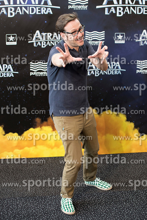 26.08.2015, Kinepolis Cinema, Madrid, ESP, Atrapa la Bandera, Premiere, im Bild Actor Joaquin Reyes attends to the photocall // during the premiere of spanish cartoon 'Capture The Flag&quot; at the Kinepolis Cinema in Madrid, Spain on 2015/08/26. EXPA Pictures &copy; 2015, PhotoCredit: EXPA/ Alterphotos/ BorjaB.hojas<br /> <br /> *****ATTENTION - OUT of ESP, SUI*****