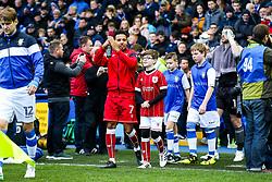 Korey Smith of Bristol City walks out - Rogan/JMP - 18/11/2017 - Hillsborough Stadium - Sheffield, England - Sheffield Wednesday v Bristol City - Sky Bet Championship.