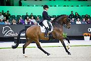 Marlies van Baalen - Ben Johnson DVB<br /> The Dutch Masters - Indoor Brabant 2019<br /> © DigiShots