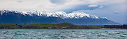 Kaikoura Peninsula, panoramic, New Zealand