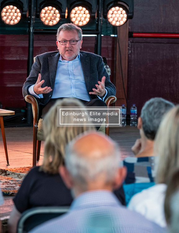 Pictured: <br />Fringe By the Sea - David Mundell. The former<br /> Scottish Secretary in conversation with Katy Balls of The Spectator.<br /><br />Ger Harley | EEm 8 August 2019