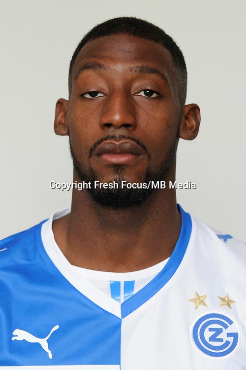 07.07.2013; Niederhasli; Fussball Super League - Portrait Grasshopper Club; <br />Anatole Ngamukol<br />(Urs Lindt/freshfocus)
