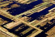 Nederland, Friesland, Gemeente Tietjerksteradeel, 01-05-2013; Nationaal Park De Alde Feanen (De Oude Venen), Eernewoude.<br /> Laagveengebied, cultuurlandschap gedeeltelijk ontstaan door vervening. Laagveenmoeras met meren, veenplassen, petgaten<br /> Natura 2000 gebied, in beheer bij It Fryske Gea<br /> Nature reserve and National Park De Alde Feanen (Old Peat Area), Eernewoude.<br /> Culture landscape, partly resulting from peat digging. Northern Netherlands.<br /> luchtfoto (toeslag op standard tarieven)<br /> aerial photo (additional fee required)<br /> copyright foto/photo Siebe Swart