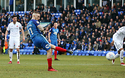 Marcus Maddison of Peterborough United scores from the penalty spot to make it 2-0 - Mandatory by-line: Joe Dent/JMP - 10/03/2018 - FOOTBALL - ABAX Stadium - Peterborough, England - Peterborough United v Charlton Athletic - Sky Bet League One