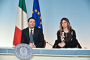 20140430 - Palazzo Chigi Conferenza stampa Matteo Renzi Marianna Madia