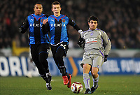 BRUGGE 16/12/2009  SPORT / FOOTBALL / VOETBAL / CLUB BRUGGE BRUGES KV - FC TOULOUSE  / IVAN PERISIC - PAULO MACHADO<br />  / LIGUE EUROPEENNE - EUROPA LEAGUE UEFA GROUP J<br />  / PICTURE BY VINCENT KALUT - GEERT VANDEN WIJNGAERT / PHOTO NEWS / DPPI