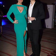 Westminster, UK. 20th Apr, 2017. Joanne larby - The make up fairy , Paul Standell - Body By Control attends The annually National UK Blog Awards at Park Plaza Westminster Bridge, London. by See Li