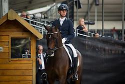 Veeze Bart, NED, Imagine<br /> Ermelo - Weltmeisterschaft Junge Dressurpferde 2019<br /> Finale für 6 jährige Dressurpferde<br /> Final for 6 years dressage horses<br /> 04. August 2019<br /> © www.sportfotos-lafrentz.de/Dirk Caremans