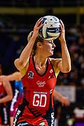 Jane Watson of the Tactix during the ANZ Premiership Netball match, Tactix v Steel, Horncastle Arena, Christchurch, New Zealand, 11th February 2019.Copyright photo: John Davidson / www.photosport.nz