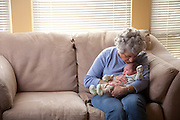 Nico gets a visit from Grandpa and Grandma Davis.