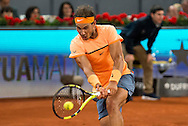 Rafael Nadal during the Madrid Open at Manzanares Park Tennis Centre, Madrid<br /> Picture by EXPA Pictures/Focus Images Ltd 07814482222<br /> 06/05/2016<br /> ***UK &amp; IRELAND ONLY***<br /> EXPA-ESP-160506-0026.jpg