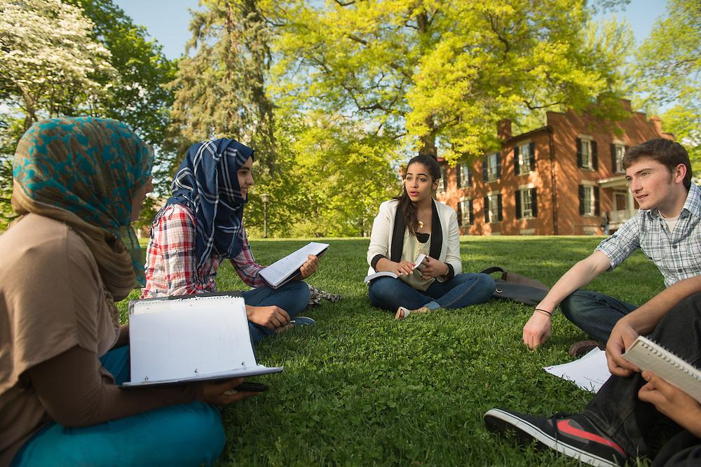 International Students Athens Campus// Photo by Ben Siegel