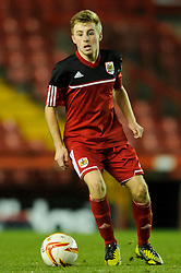 Bristol City U18s Joe Morrell in action during the first half of the match - Photo mandatory by-line: Rogan Thomson/JMP - Tel: Mobile: 07966 386802 - 04/12/2012 - SPORT - FOOTBALL - Ashton Gate Stadium - Bristol. Bristol City U18 v Ipswich Town U18 - FA Youth Cup Third Round Proper.