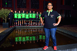 19-10-2015 NED: Teampresentatie Advisie-SSS, Barneveld<br /> Selectie 2015-2016 SSS Barneveld / Teammanager Christien Timorason of SSS
