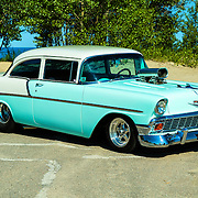 1956 Chevrolet Custom Model 2010 on pavement