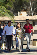 073113 Spanish Royals visit Andratx in Mallorca