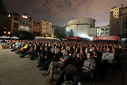 30.07.2011, Sarajevo, BIH, 17th Sarajevo Film Festival, im Bild 17th Sarajevo Film Festival, 3000 people in open-air cinema Hey. EXPA Pictures © 2011, PhotoCredit: EXPA/ nph/ Pixsell/ HaloPix +++++ ATTENTION - OUT OF GERAMANY / GER, CROATIA / CRO AND BELGIE / BEL +++++