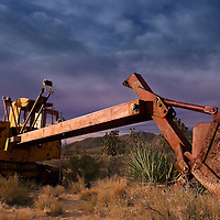 Abandoned Steam Shovel in the Ivanpah Range of the Mojave National Preserve
