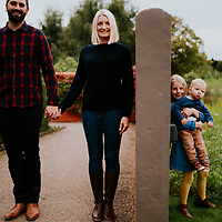 Like Talking to a Brick Wall ~ Becca, Rich, Lucas & Amber's Harlow Carr, Harrogate Family Shoot
