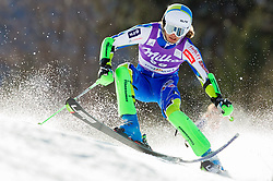 KUERNER Mihaof Slovenia competes during 1st Run of Men's Slalom - Pokal Vitranc 2012 of FIS Alpine Ski World Cup 2011/2012, on March 11, 2012 in Vitranc, Kranjska Gora, Slovenia.  (Photo By Vid Ponikvar / Sportida.com)